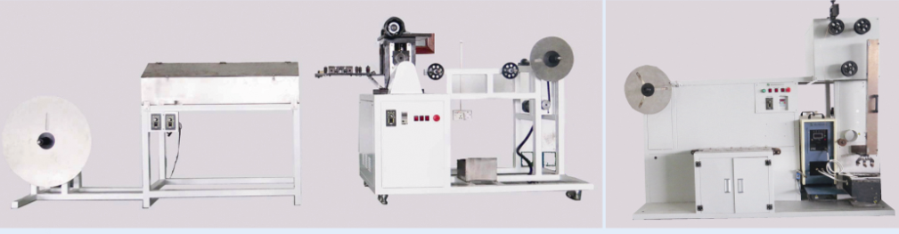 High- temperature tining machine